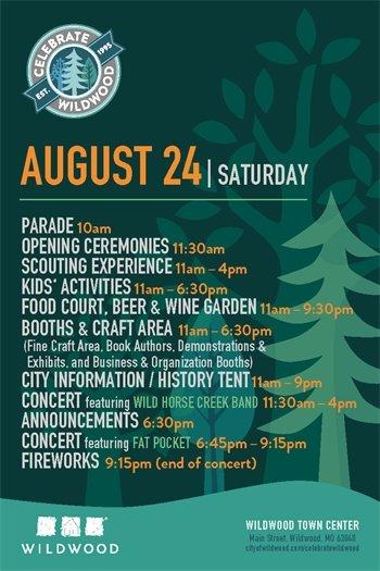 2019 Celebrate Wildwood Event - Schedule