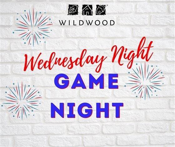 Wednesday Night - July 1, 2020 Game Night in Wildwood