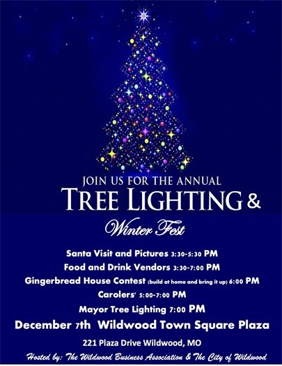 Tree Lighting and Winterfest Event - December 7, 2019
