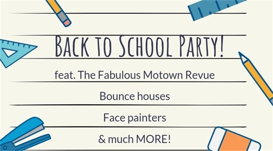 Back to School Party - City of Wildwood - August 9, 2019