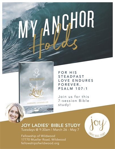 Joy Ladies' Bible Study - Fellowship of Wildwood - Tuesdays