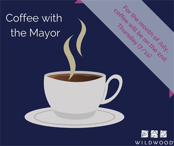 Coffee With the Mayor - First Thursday of Each Month