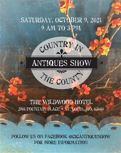 Country in the County Antique Show - October 9, 2021