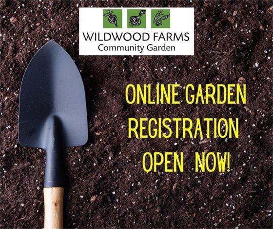 Wildwood Farms Community Garden - Registration for Returning Gardeners
