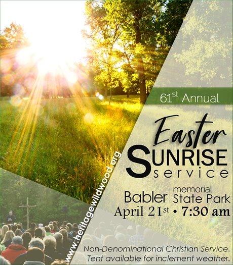 Easter Sunrise Service @ Babler State Park