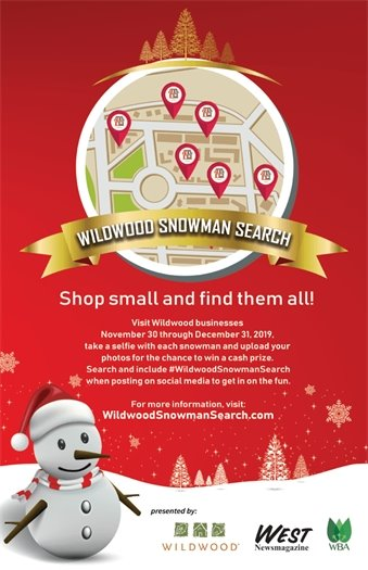 Wildwood Snowman Search - 2019