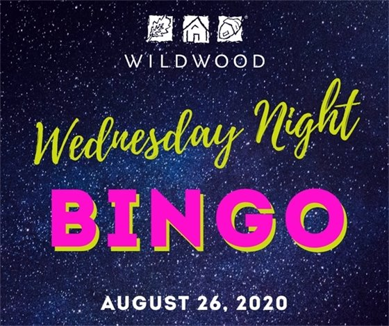 August 26, 2020 - Wednesday Night BINGO - City of Wildwood