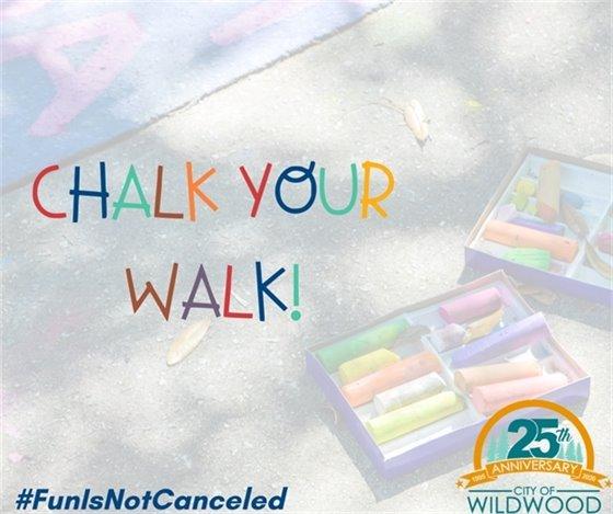 Chalk Your Walk - Take that Coronavirus