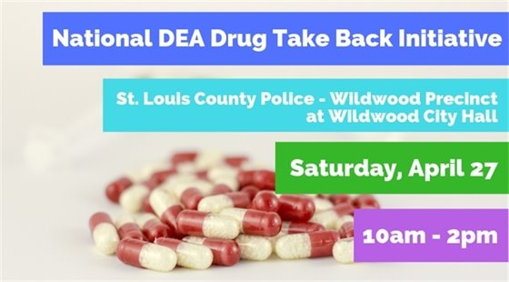 Drug Take Back Initiative - April 27, 2019