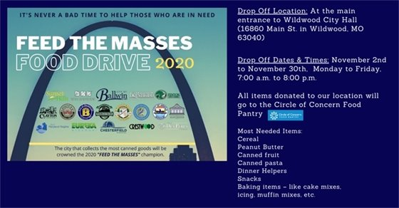 Feed the Masses - Food Drive 2020