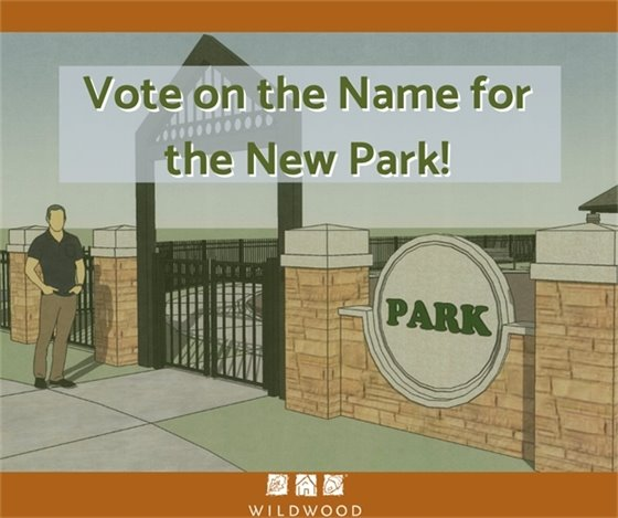 Vote on the Name for the New Park