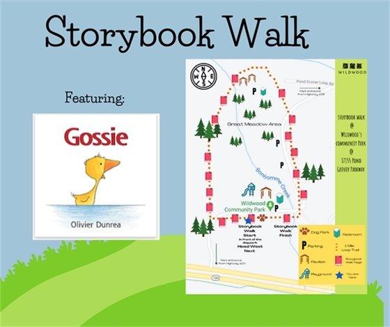 Storybook Walk - Gossie