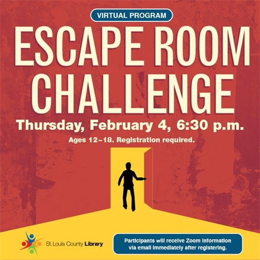 St. Louis County Library - Escape Room Challenge 02/04/2021