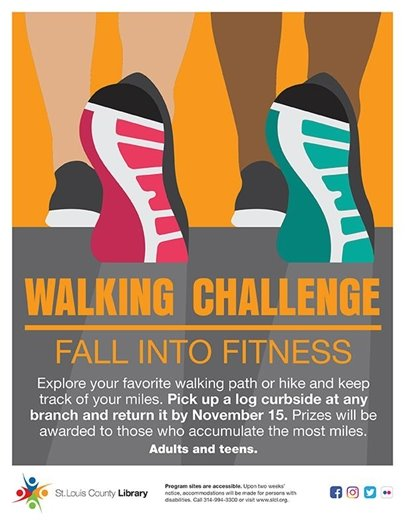 Walking Challenge - St. Louis County Library