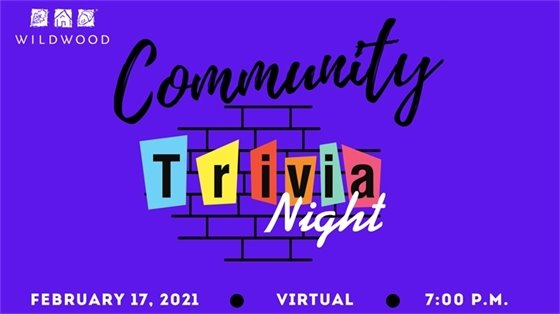 Another Great Virtual Event - Community Trivia Night - February 17, 2021