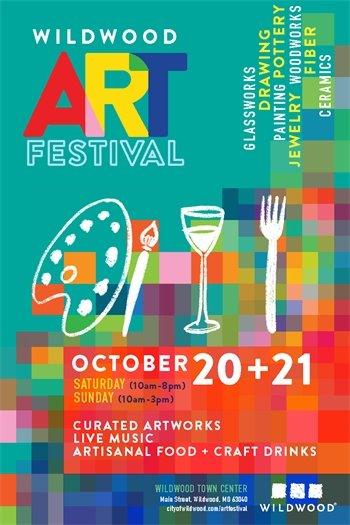 Art Festival - October 20 and 21, 2018 - City of Wildwood, Missouri
