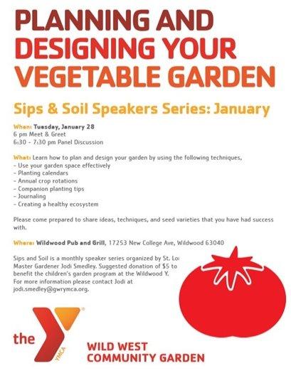 Sips & Soils Speaker Series - January 2020 - Wildwood Family YMCA