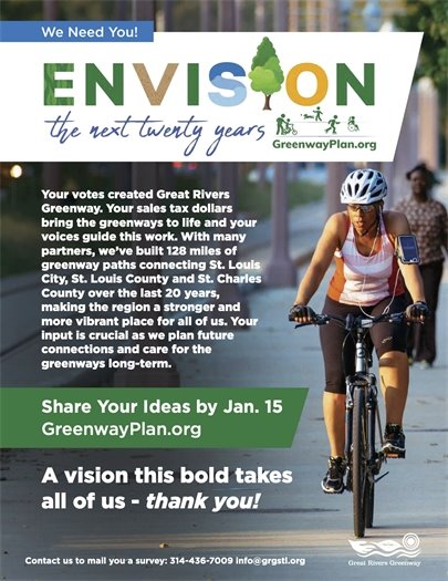 Great Rivers Greenway - ENVISION - Planning Process for the Next 20 Years