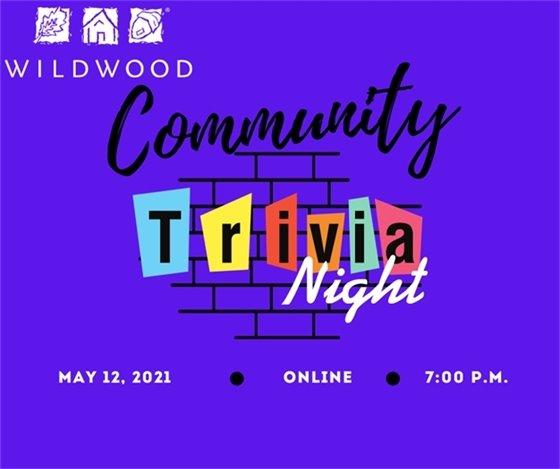May 12, 2021 - Community Trivia Night - Online