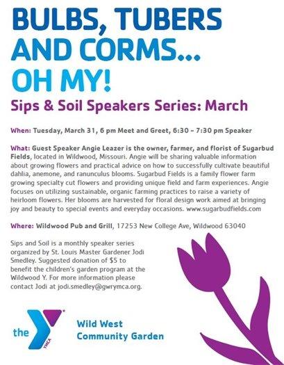 Wild West Community Garden - Sips & Soils Series - March 31, 2020