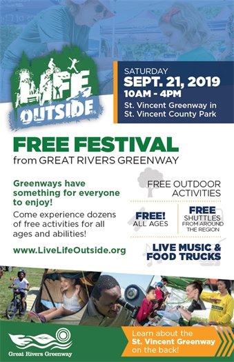 Life Outside - Free Festival - September 21, 2019