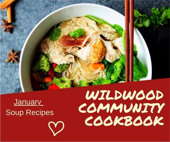 Wildwood Community Cookbook - 25th Anniversary Event