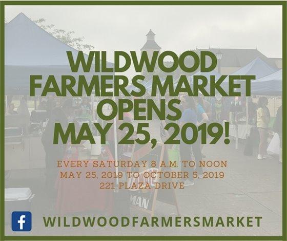 Wildwood Farmers Market Opens - 05-25-2019
