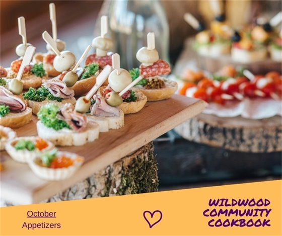 Appetizers - Recipes of the Month - City of Wildwood's 25th Anniversary