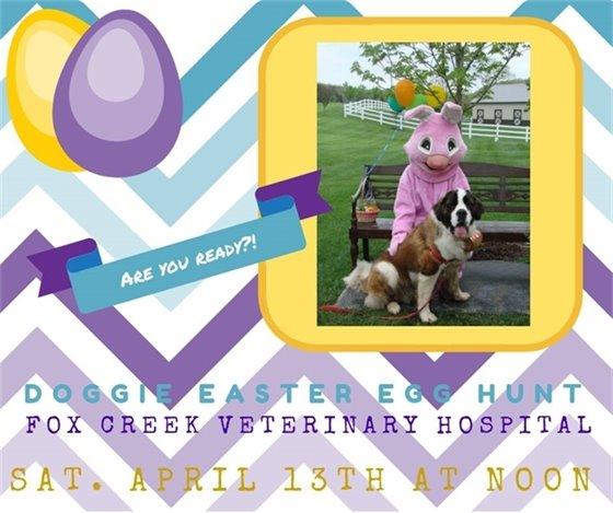 Doggie Easter Egg Hunt - April 13, 2019