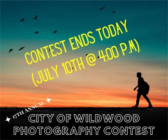 Wildwood Photography Contest - Last Day to Enter