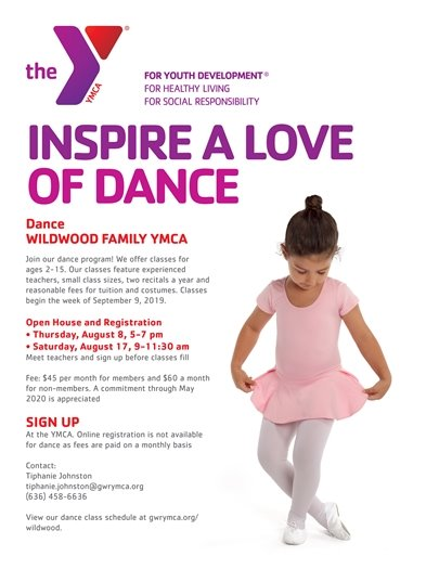 Wildwood Family YMCA - Inspire the Love of Dance