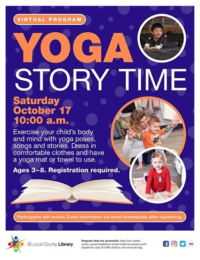 Yoga Story Time - St. Louis County Library