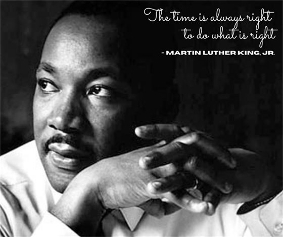 Dr. Martin Luther King Holiday - January 18, 2021