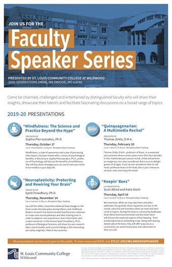 STLCC - Faculty Speaker Series