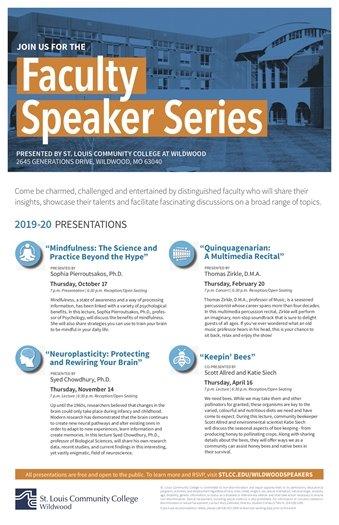 STLCC - Faculty Speaker Series