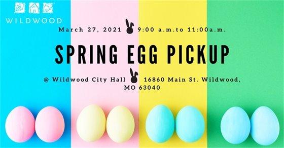Spring Egg Hunt - March 27, 2021