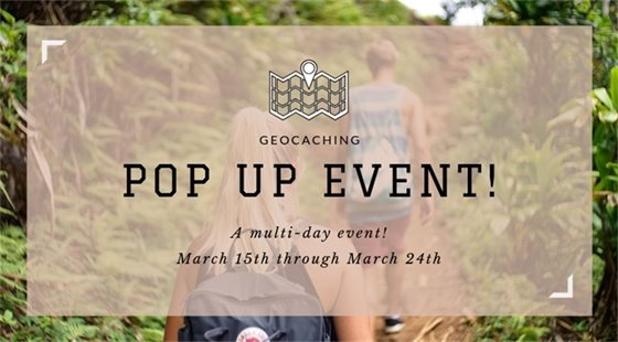 Wildwood - Geocaching - Pop Up Event