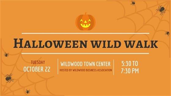 Halloween Wild Walk - October 22, 2019 - Wildwood Town Center
