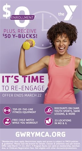 Wildwood Family YMCA - It's Time to Engage