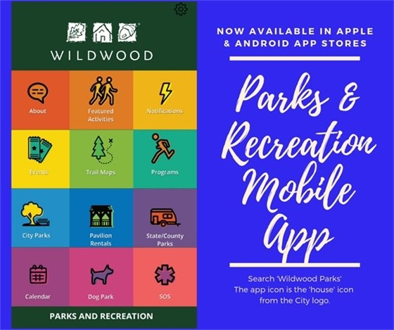 We Have an App for That - Wildwood Parks and Recreation - Now Available