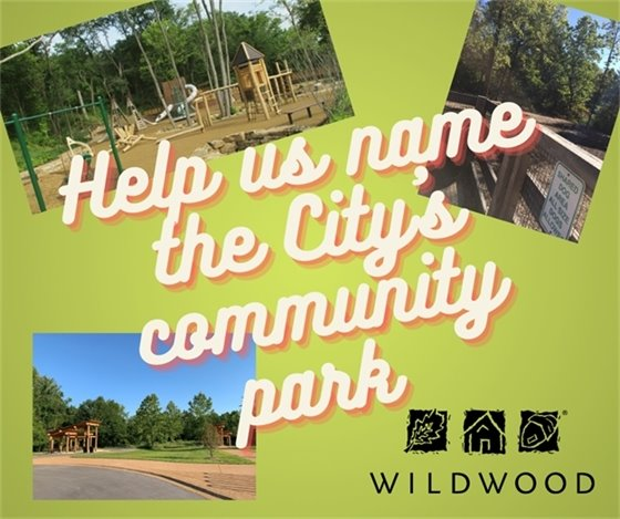 Help us name the City's community park