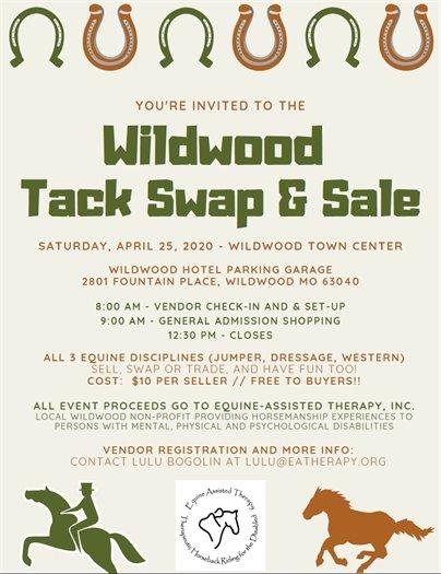 City of Wildwood Tack Swap & Sale - April 25, 2020