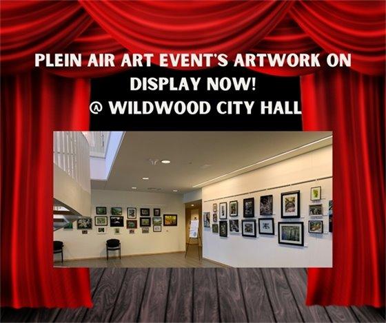 Plein Air Art Event - Artwork is Now on Display @ City Hall