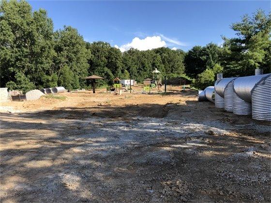 Green Pines Park Progress - August 21, 2020