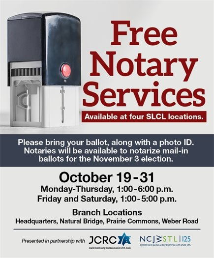 St. Louis County Library - Notary Services