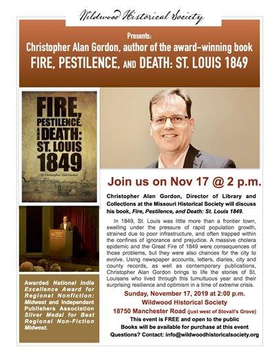 Wildwood Historical Society's Speaker Series - November 17, 2019 @ 2:00 p.m.