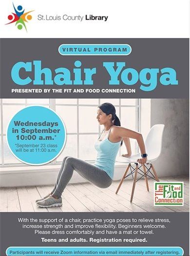 It's Chair Yoga!
