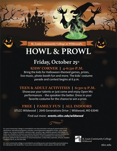 STLCC - Howl & Prowl - Friday, October 25, 2019 - Great Fun