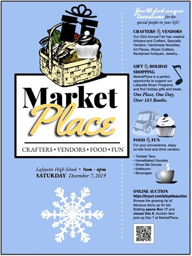 Lafayette High School's Market Place - December 7, 2019