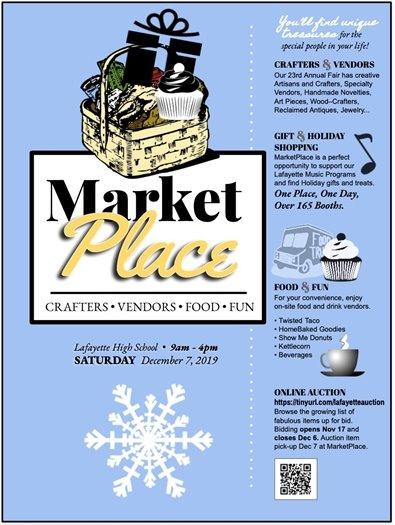 Lafayette High School's Market Place - December 7, 2019